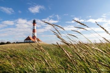Leuchtturm im Wind